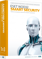 ESET NOD32 Smart Security (3 ПК, 2 года)